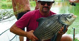 Рыбалка на озере Сабай