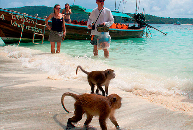 3 жемчужины Андамана. Купание на острове Hong (Krabi).