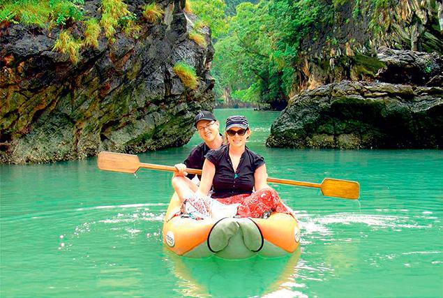 3 жемчужины Андамана. Прогулка на каноэ вокруг острова Panak (Phang Nga).
