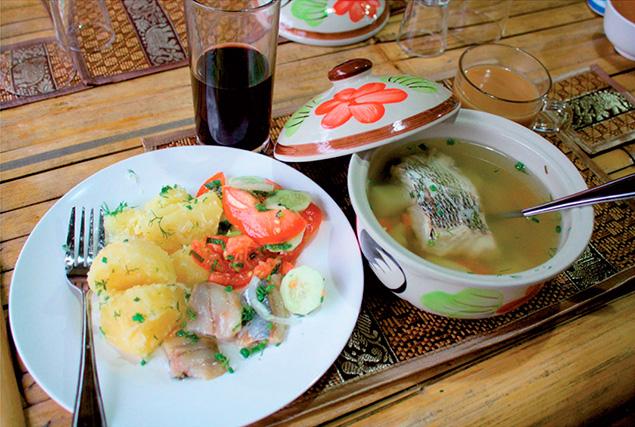 Путь Дракона. Урок тайской кухни.