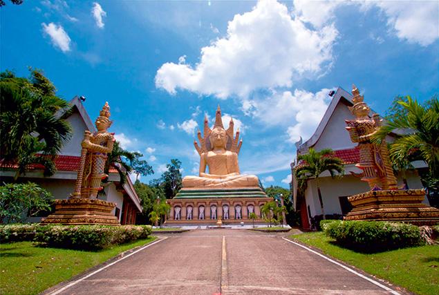 Национальный парк Кхао Сок. Храм Bang Riang