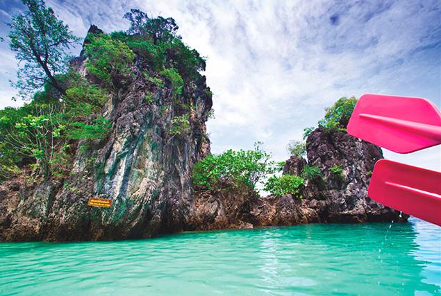 Острова провинции Краби. Отсров Yao Yai.