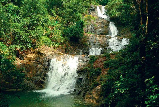 Национальный парк Као Лак. Посещение водопада