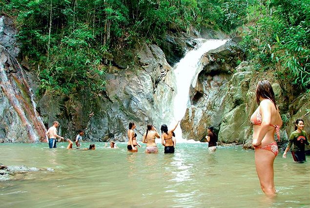 Провинция Пханг Нга & рафтинг. Водопаду  Tone Pariwat