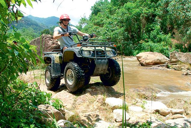 Провинция Пханг Нга & рафтинг. Квадрациклы.