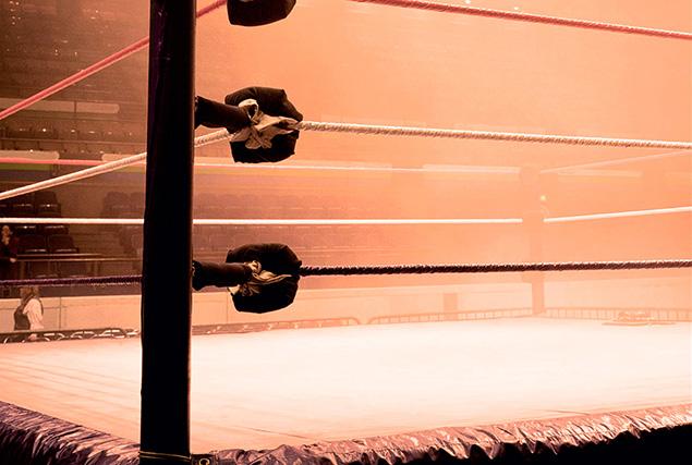 Тайский бокс на Пхукете.