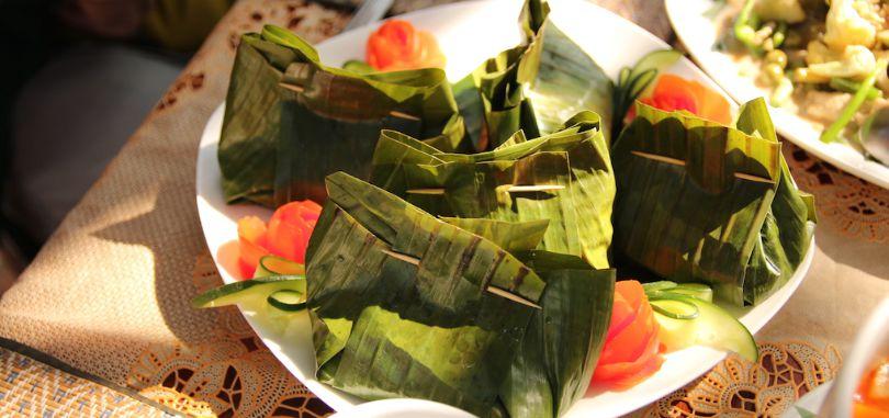 Тайское рыбное суфле Хо Мок