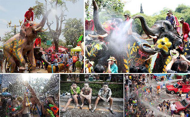 Сонгкран или тайский Новый год
