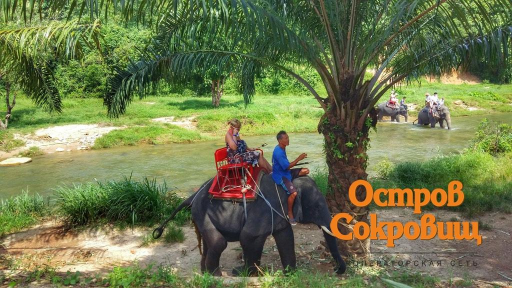 Поездка на слоне
