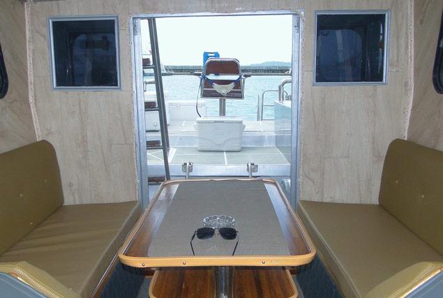 Рыбацкая лодка Beluga