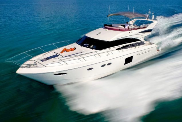 Yacht Princess 64
